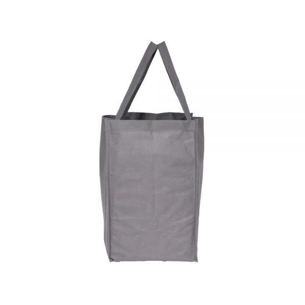Custom Eco Friendly Shopping Bag Gray