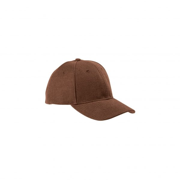 Eco-Friendly Baseball Cap Earth Brown