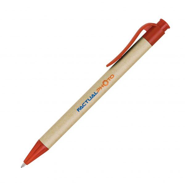 Eco-Friendly Corn Starch Pen Red