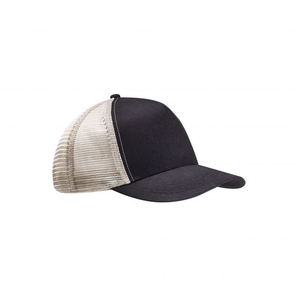 Eco-Friendly Semi-Curve Hat Black