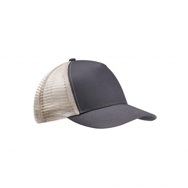 Eco-Friendly Semi-Curve Hat Charcoal