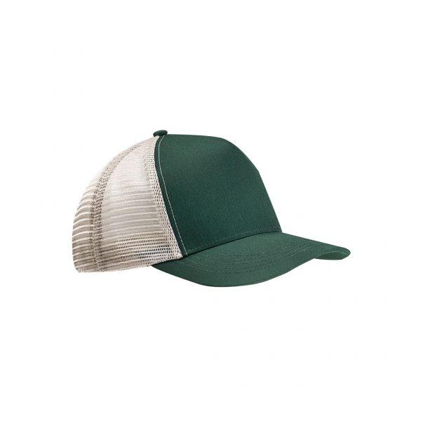 Eco-Friendly Semi-Curve Hat Green