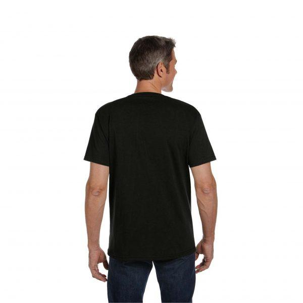 Eco-Friendly Short Sleeve Black Back
