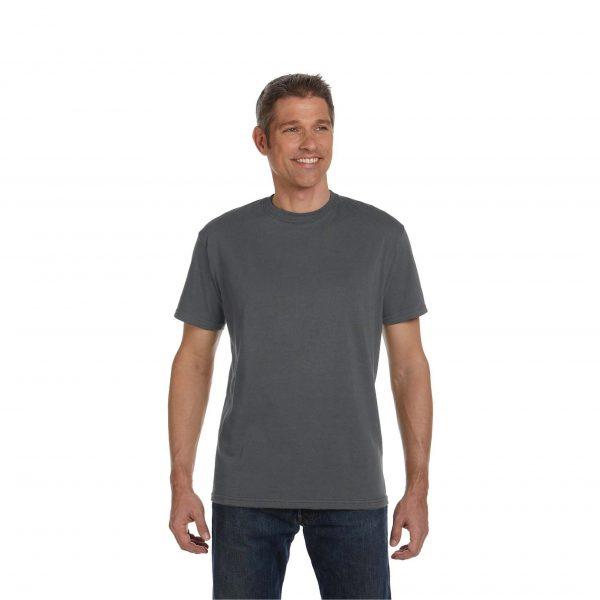 Eco-Friendly Short Sleeve Charcoal