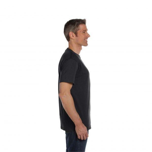 Eco-Friendly Short Sleeve Charcoal Side