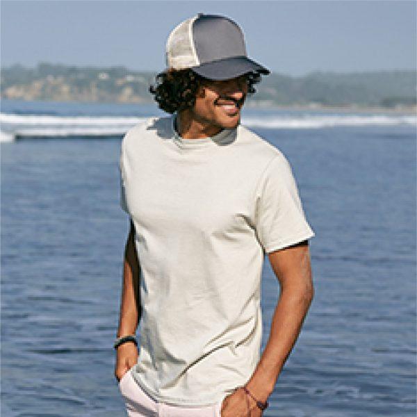 Eco-Friendly Short Sleeve Natural Model