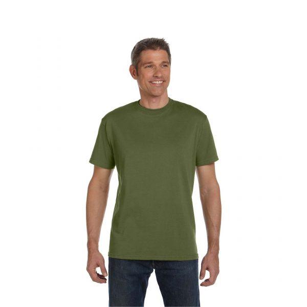 Eco-Friendly Short Sleeve Olive