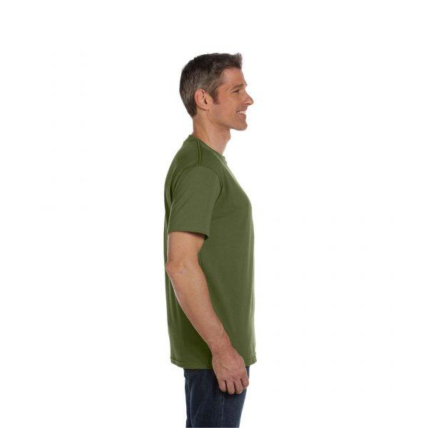 Eco-Friendly Short Sleeve Olive Side