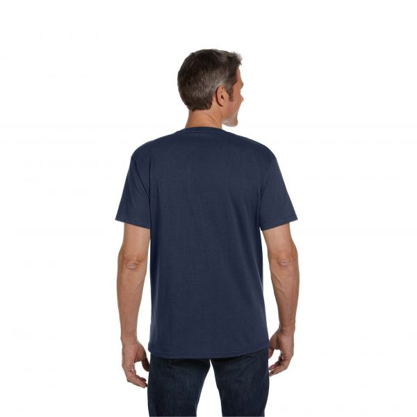Eco-Friendly Short Sleeve Pacific Blue Back