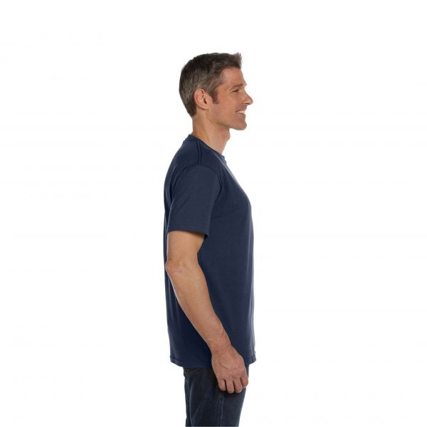 Eco-Friendly Short Sleeve Pacific Blue Side