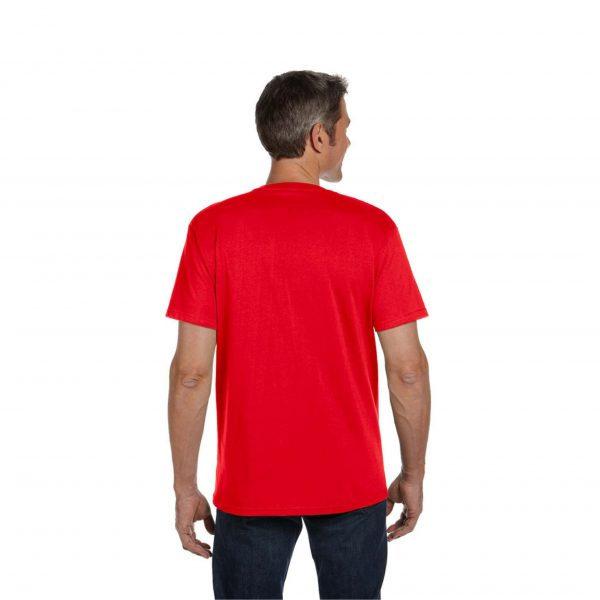 Eco-Friendly Short Sleeve Red Pepper Back