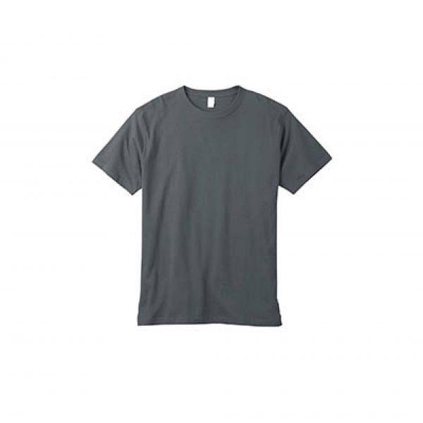 Eco-Friendly Short Sleeve Charcoal T-Shirt
