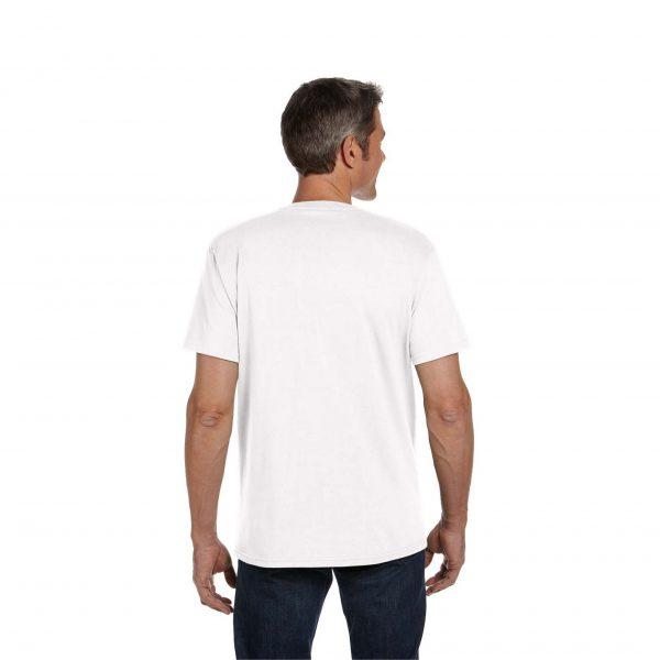 Eco-Friendly Short Sleeve White Back