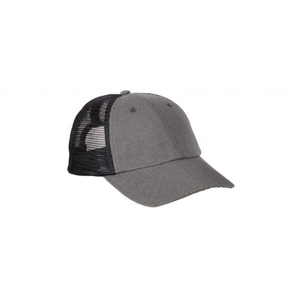 Eco-Friendly Soft Trucker Hat Charcoal Black