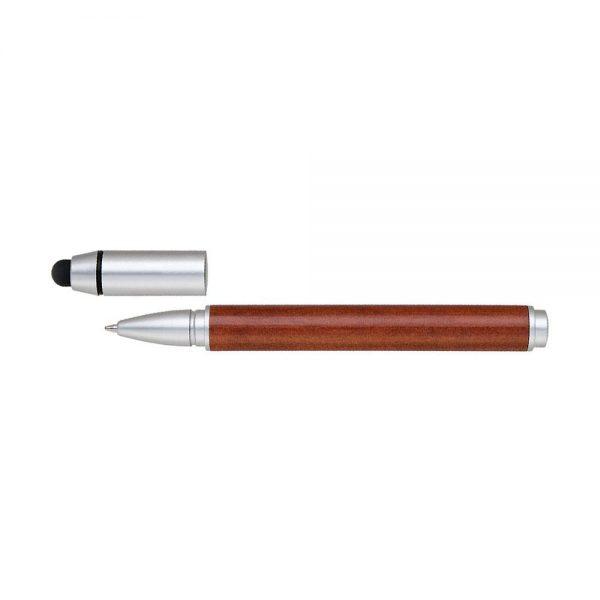 Eco-Friendly Stylus Wooden Pen Side Split