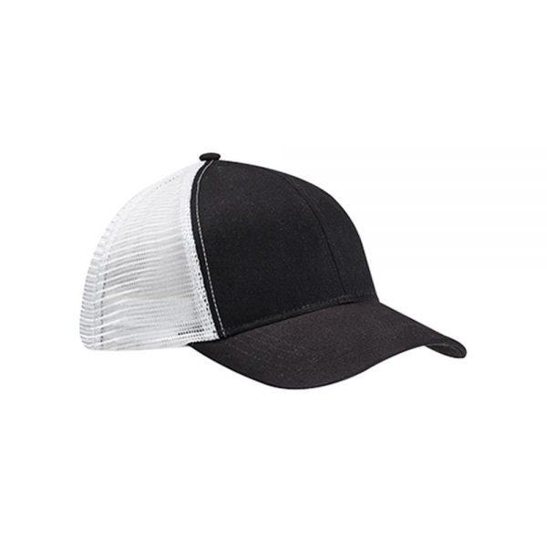 Eco-Friendly Trucker Hat Black/White