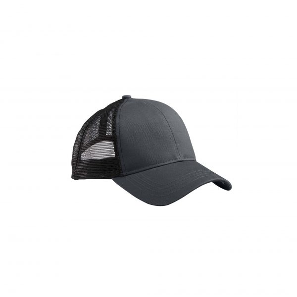 Eco-Friendly Trucker Hat Charcoal/Black