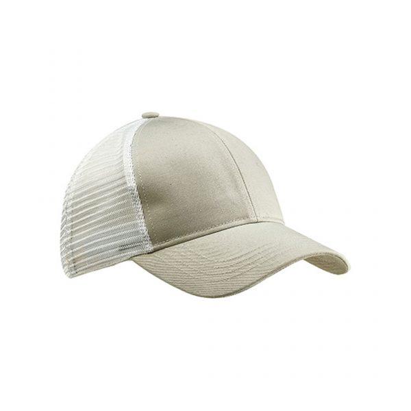 Eco-Friendly Trucker Hat Dolphin Gray/White