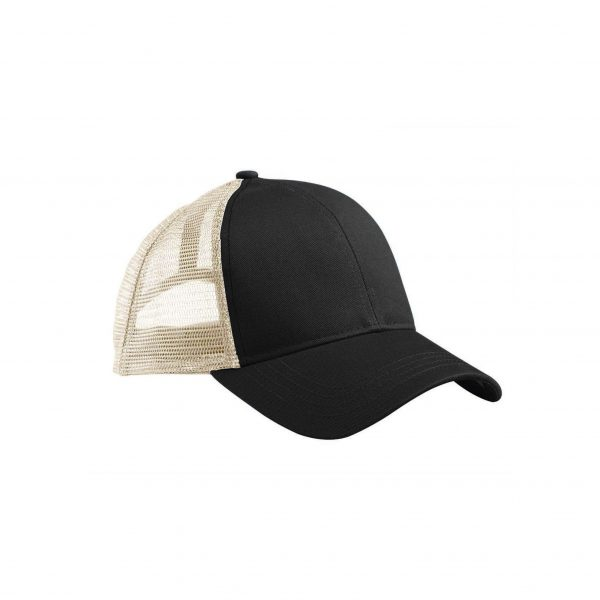 Eco-Friendly Trucker Hat Black/Oyster