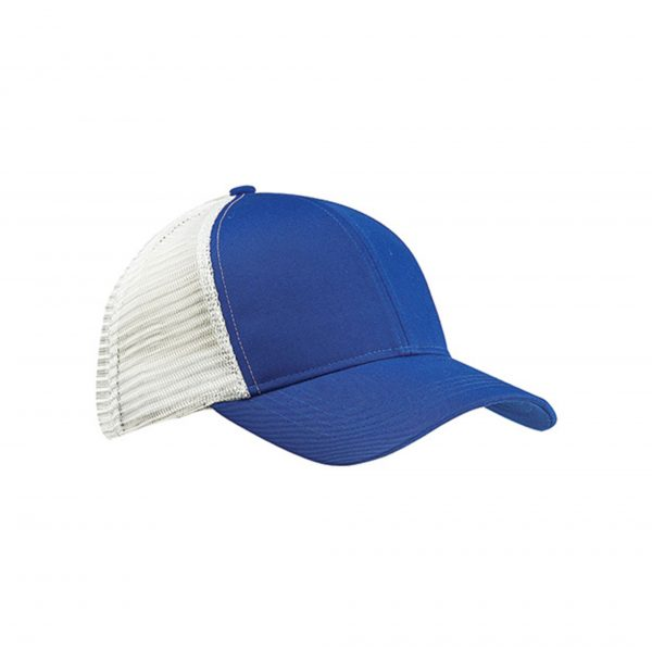 Eco-Friendly Trucker Hat Royal Blue/White