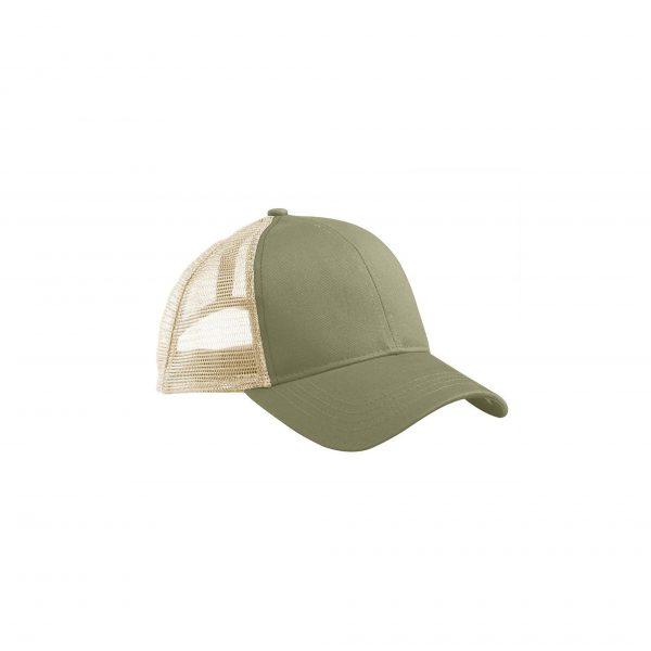 Eco-Friendly Trucker Hat Jungle/Oyster