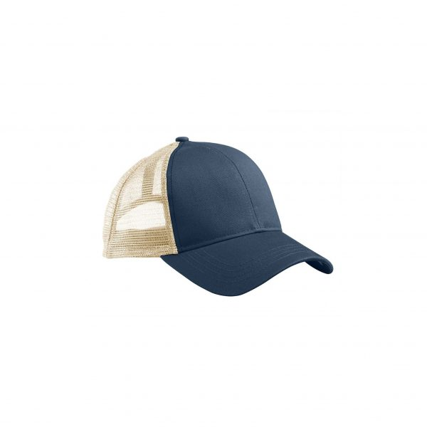 Eco-Friendly Trucker Hat Pacific Blue/Oyster