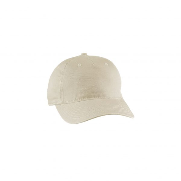 Eco-Friendly Twill 5-Panel Unstructured Hat Oyster