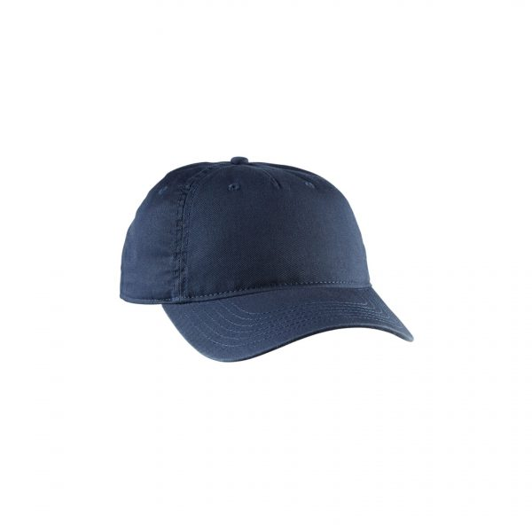 Eco-Friendly Twill 5-Panel Unstructured Hat Pacific Blue