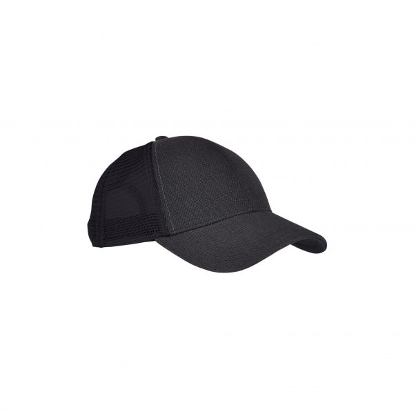 Eco-Friendly Unisex Trucker Cap Black