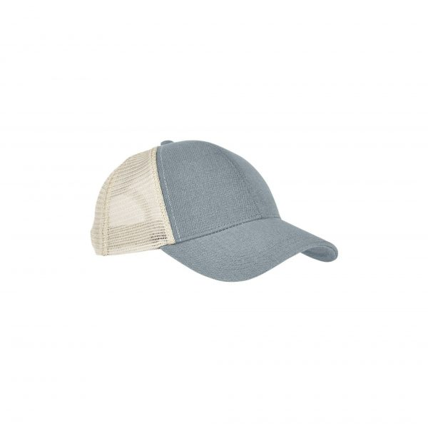 Eco-Friendly Unisex Trucker Cap Charcoal Oyster