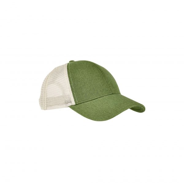 Eco-Friendly Unisex Trucker Cap Olive