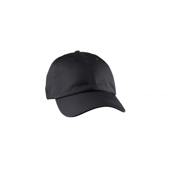 Eco-Friendly Unstructured Baseball Cap Black