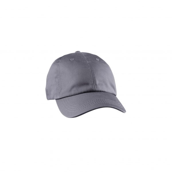Eco-Friendly Unstructured Baseball Cap Charcoal