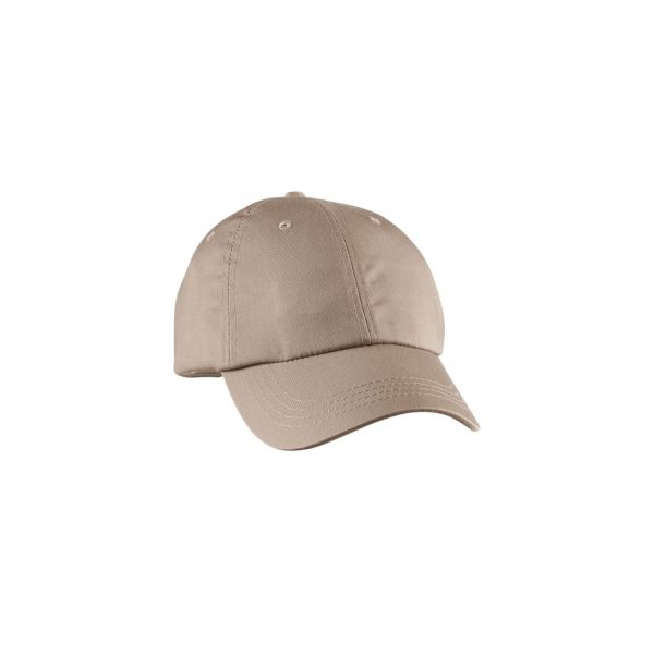 Eco-Friendly Unstructured Baseball Cap Khaki
