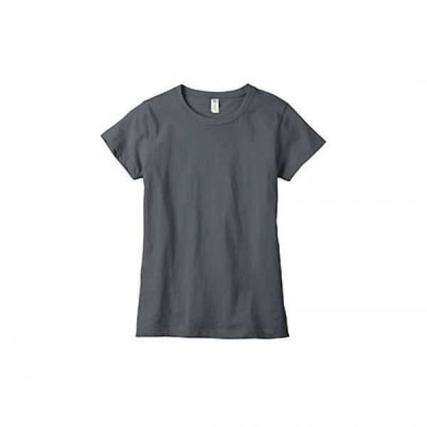 Eco-Friendly Women's T-Shirt Charcoal