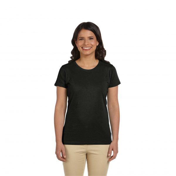 Eco-Friendly Women's T-Shirt Black