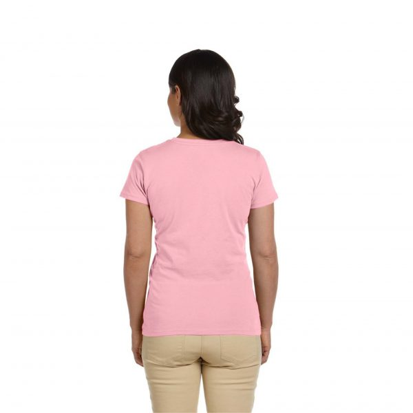 Eco-Friendly Women's T-Shirt Pink Back