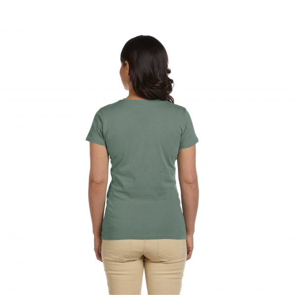 Eco-Friendly Women's T-Shirt Sage Back