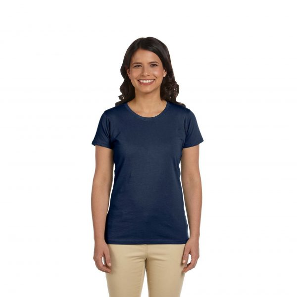 Eco-Friendly Women's T-Shirt Navy Blue