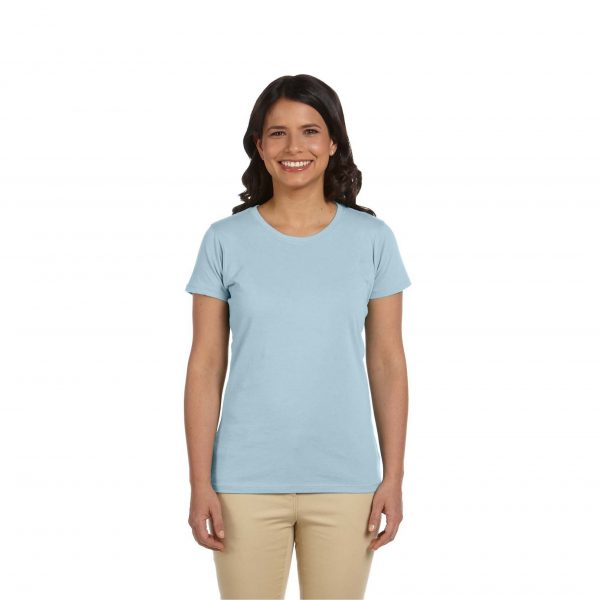 Eco-Friendly Women's T-Shirt Light Blue