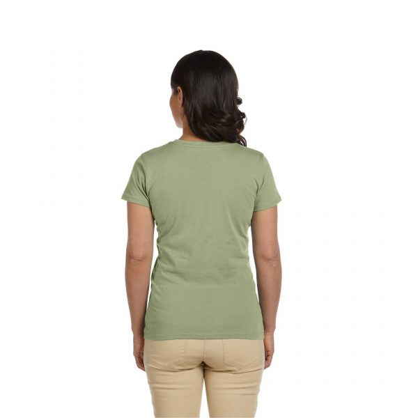 Eco-Friendly Women's T-Shirt Green Back