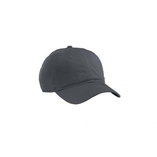 Organic Cotton Baseball Hat Charcoal