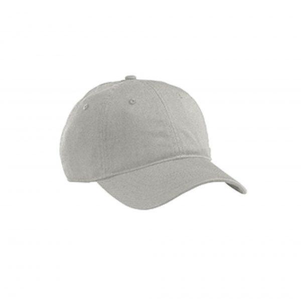 Organic Cotton Baseball Hat Dolphin Gray