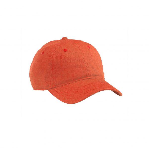 Organic Cotton Baseball Hat Orange Poppy