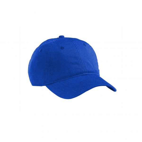Organic Cotton Baseball Hat Royal Blue