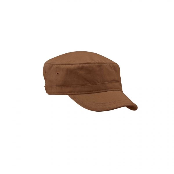 Organic Cotton Twill Corps Hat Earth Brown