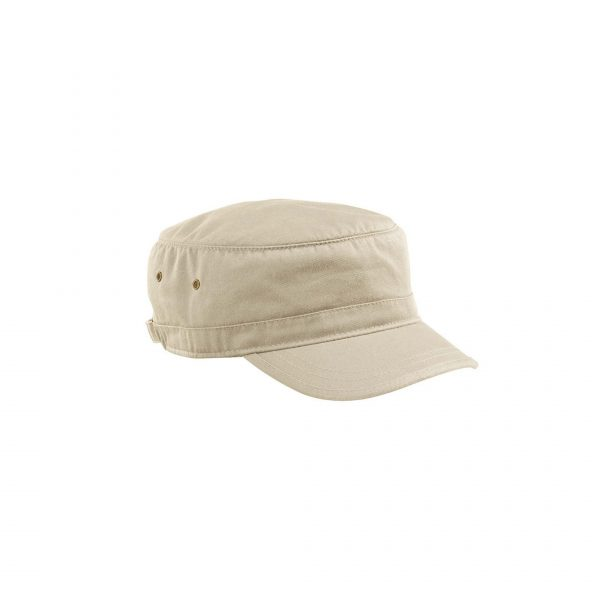 Organic Cotton Twill Corps Hat Oyster