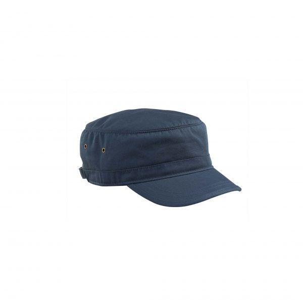 Organic Cotton Twill Corps Hat Pacific Blue