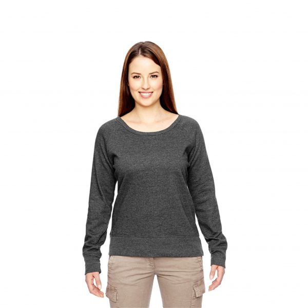 Recycled Fleece Pullover Charcoal