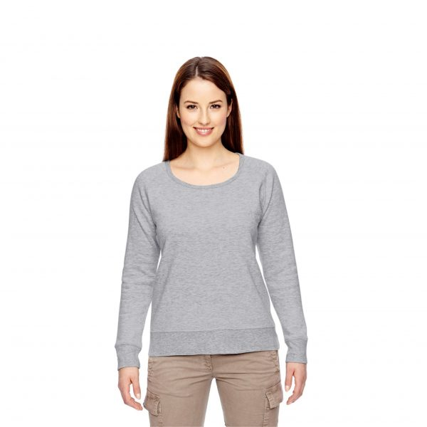 Recycled Fleece Pullover Gray